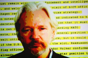 Julian Assange (Photo by Hannah Peters/Getty Images)
