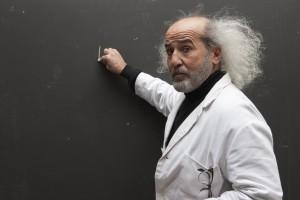 old man inventor scientist professor elderly innovator