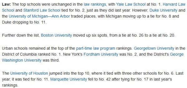 BREAKING: The 2017 U S  News Law School Rankings Leak
