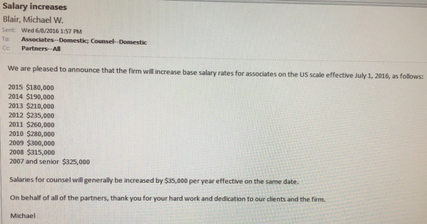 Debevoise makes its salary announcement with a twist above the law good for debevoise counsel are people too ccuart Gallery