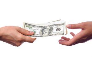 Write assignment for money