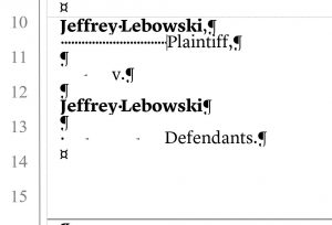 How To Format Pleadings | Above the Law