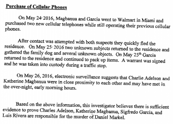 The dan markel case the probable cause affidavit for charlie as mentioned earlier state attorney willie meggs has so far declined to approve arrest warrants for katherine magbanua or any of the adelsons thecheapjerseys Images