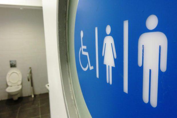 unisex bathroom restroom toilet