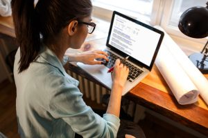 blogger blogging keyboard computer typing