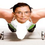 Ginsberg works out like a boss