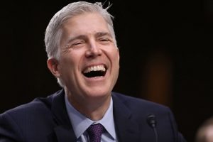 Justice Neil Gorsuch (Photo  by Getty)
