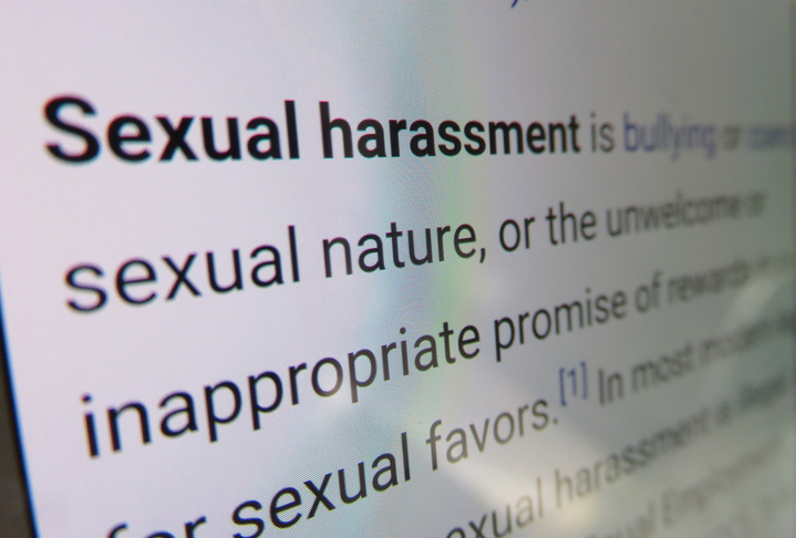 The sexual harassment we don't talk about