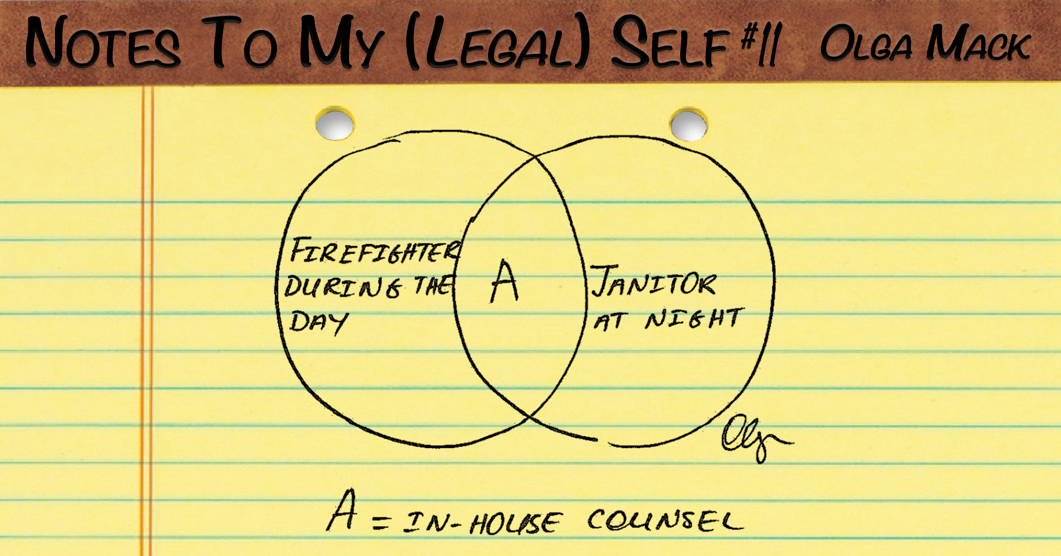 You Really Do Have To Do It All As In House Counsel
