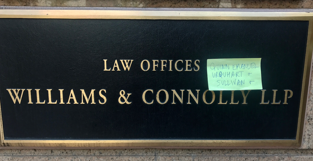 Anatomy Of A Rumor: The Quinn Emanuel / Williams & Connolly \'Merger ...