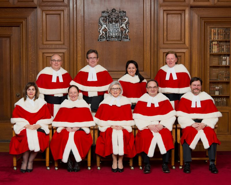 Shocker The Canadian Supreme Court Is Really Really