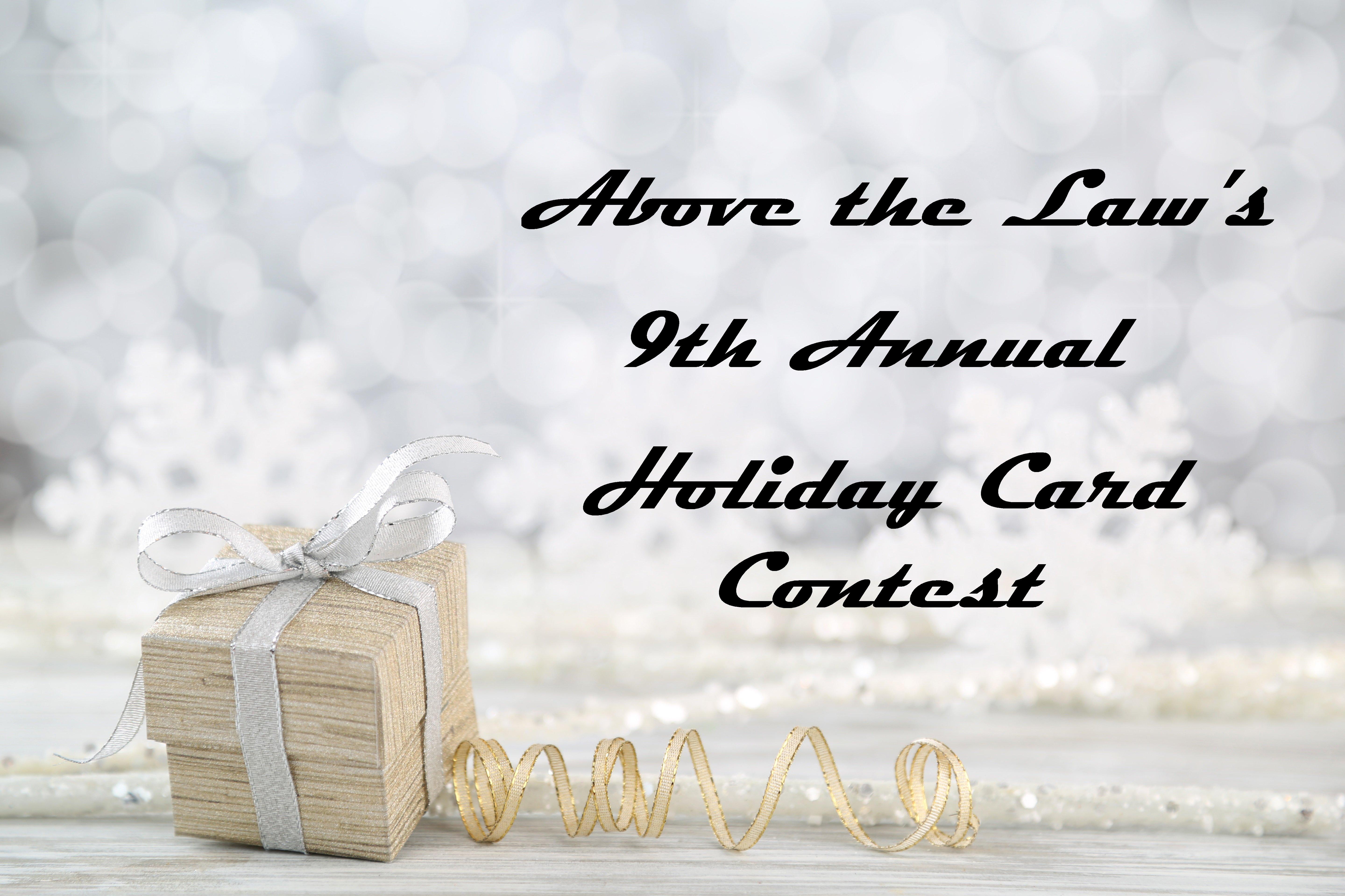 Atl Holiday Card Contest The Finalists 2017 Above The Law