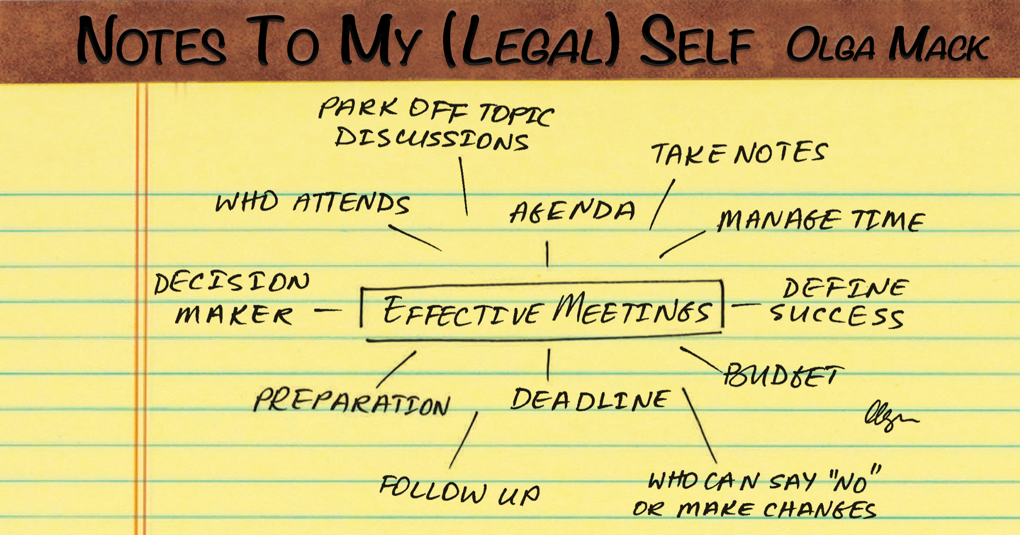 The Recipe For Successful Meetings | Above the Law