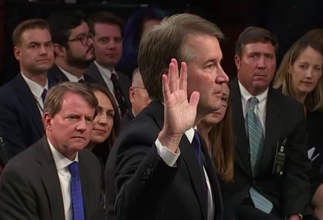 Kavanaugh accuser reveals self to tell story