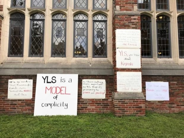 Yale Law Students Protest, Referring To School As 'Model Of