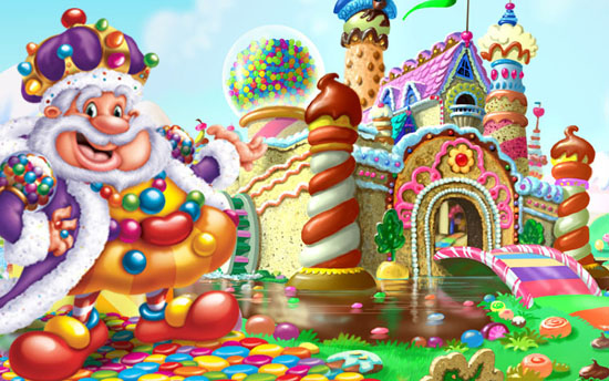 Candyland King Candy Tell Me Something Good...