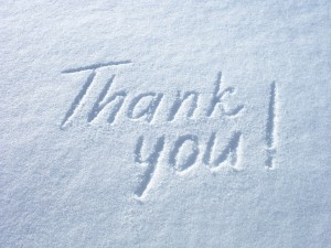 Thanks Very Much To Our Advertisers On This Snowy Day
